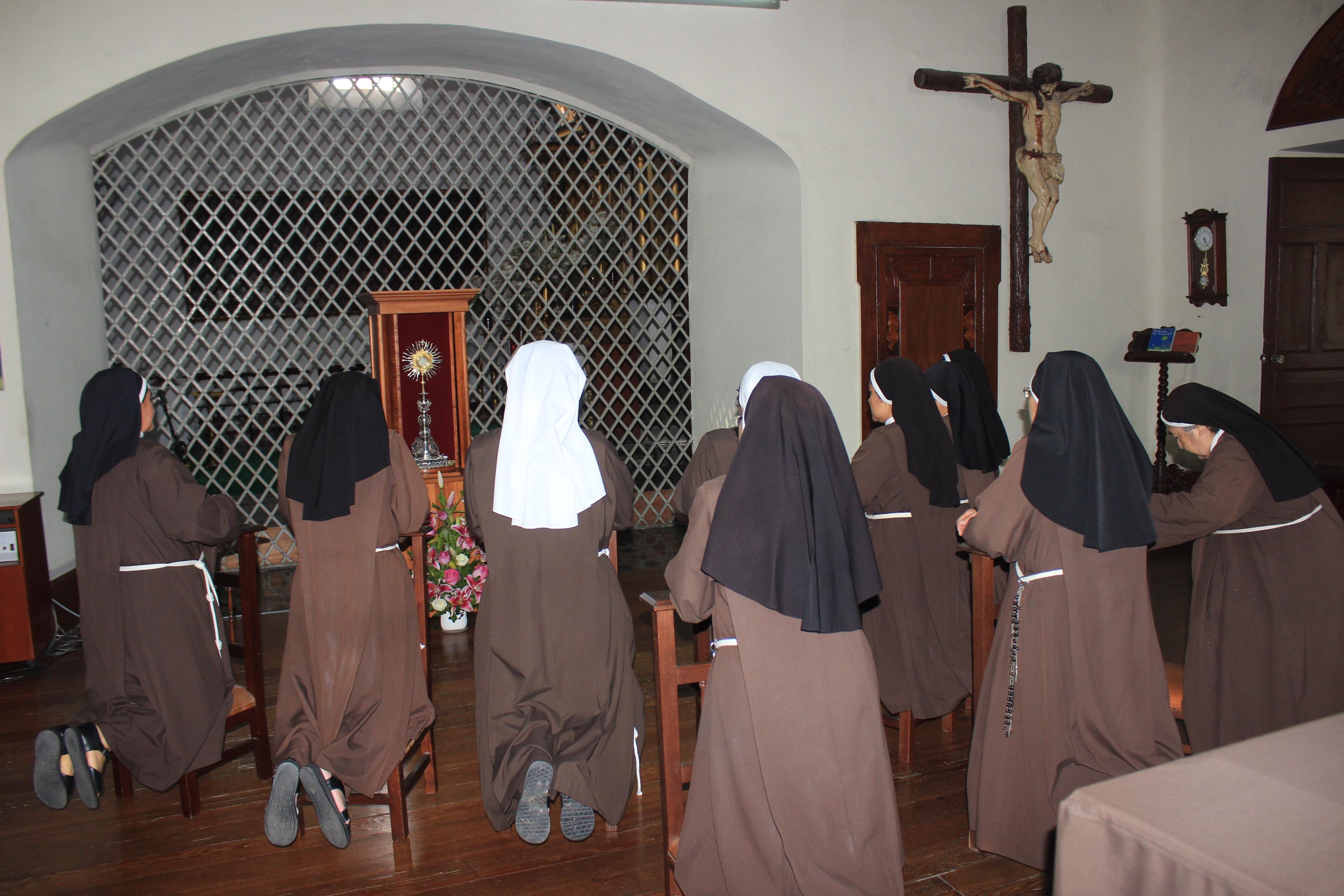 """Religiosas del convento Santa Clara: """"la visita del Papa Francisco llenará de esperanza a todo el país"""""""