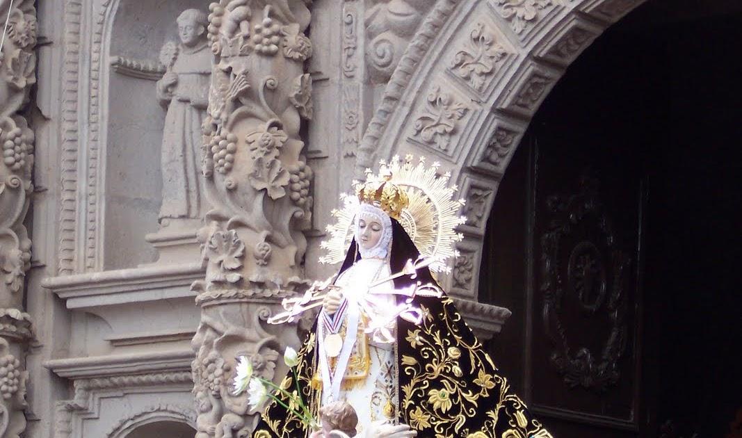 Cajamarca: Virgen Dolorosa y de la Asunción de Cutervo junto al Papa Francisco, en Trujillo