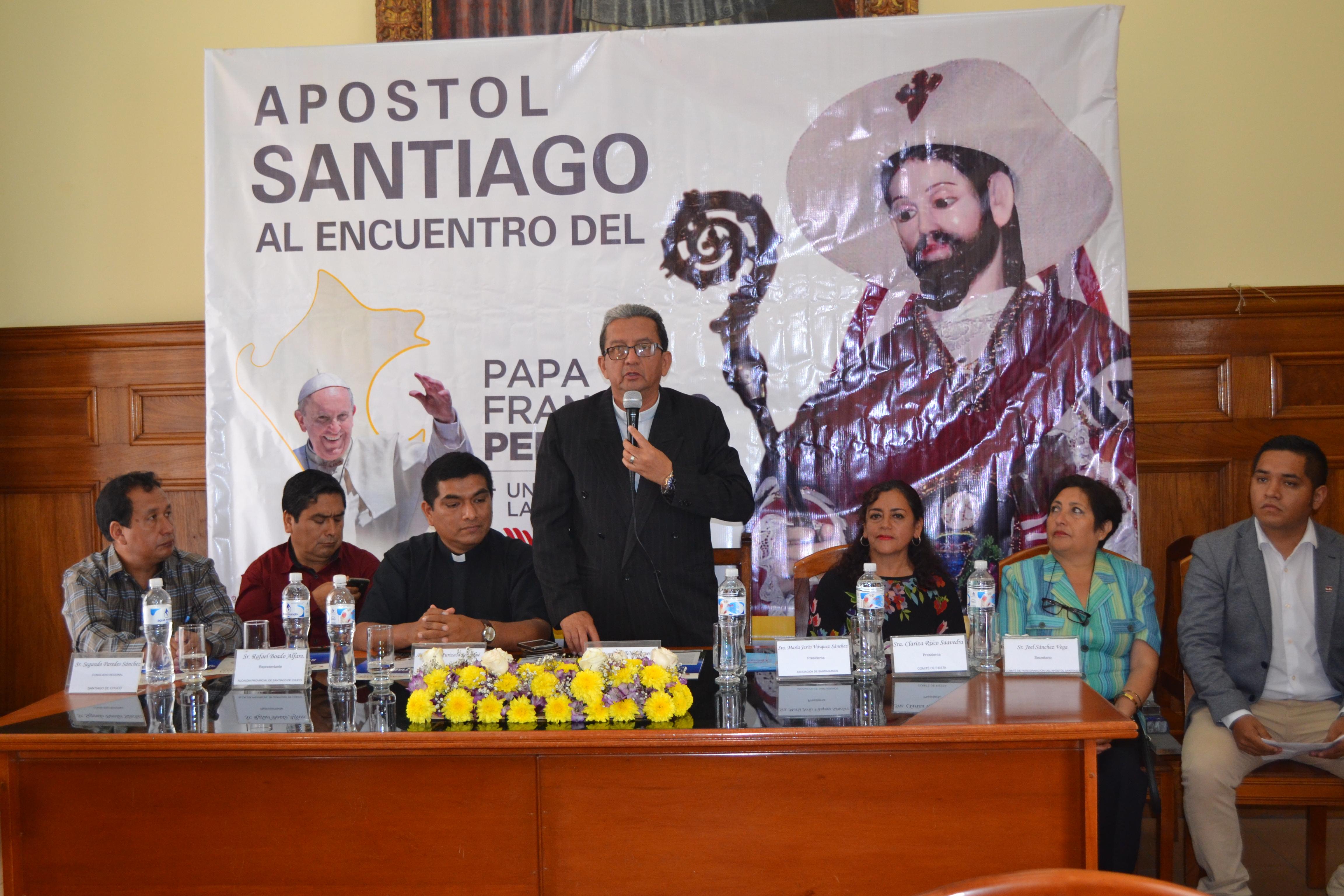 """Fecha de llegada a Trujillo del Apóstol Santiago """"El Mayor"""" para encuentro Papal"""
