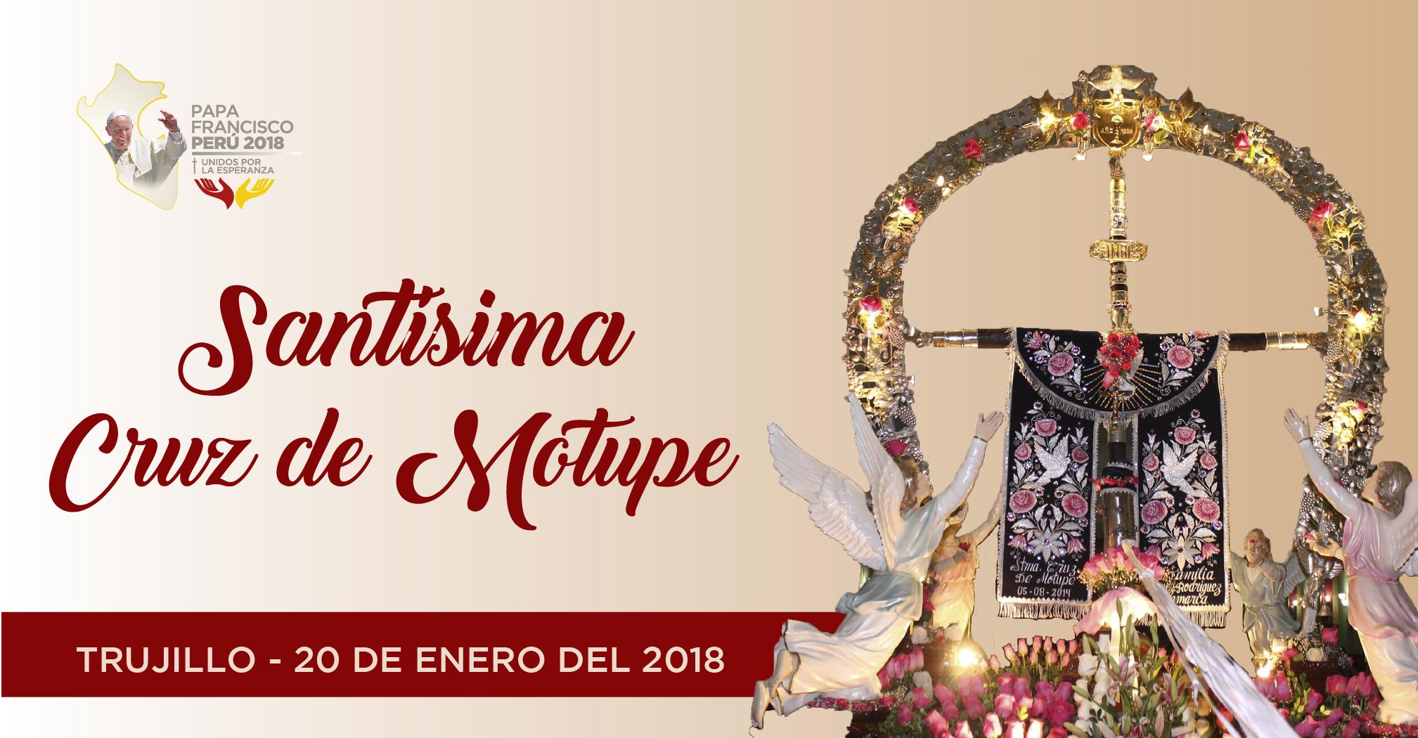 Cruz de Motupe: Día y horas de su peregrinación a Trujillo