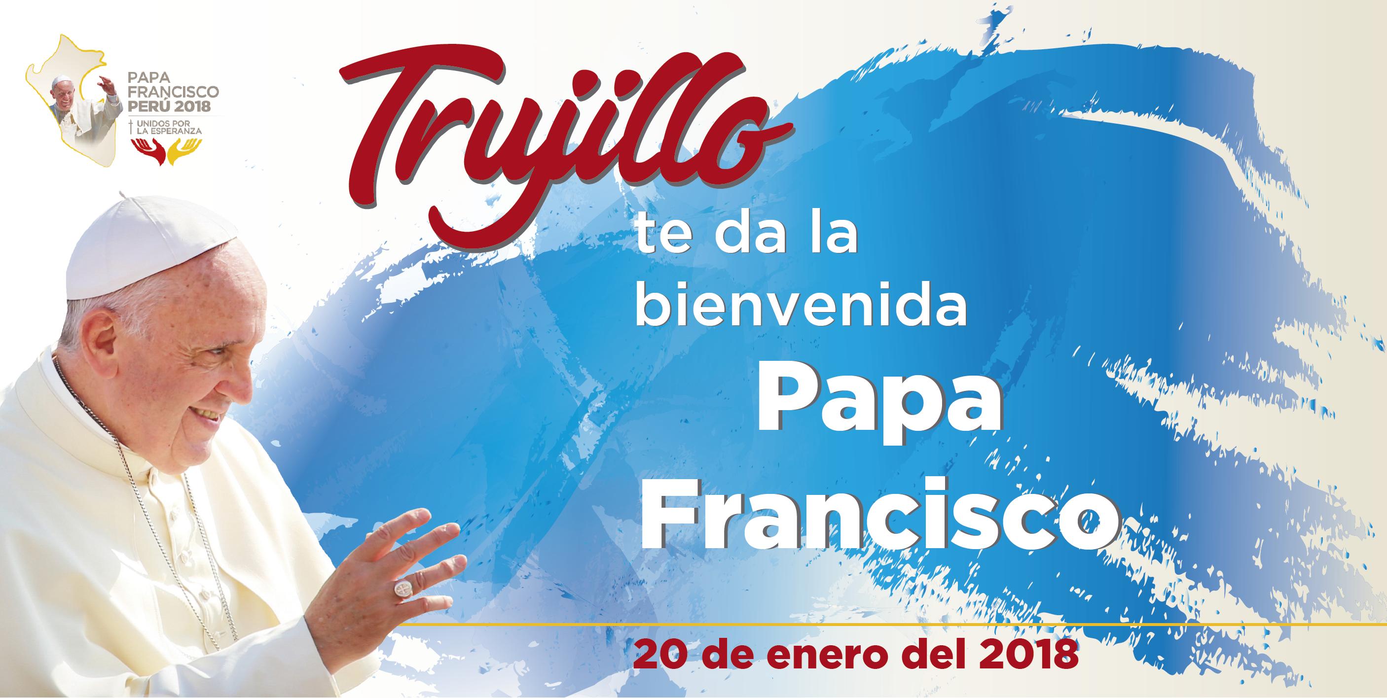 Visita Papal: 40 sumaron las imágenes religiosas que estarán con el Papa Francisco