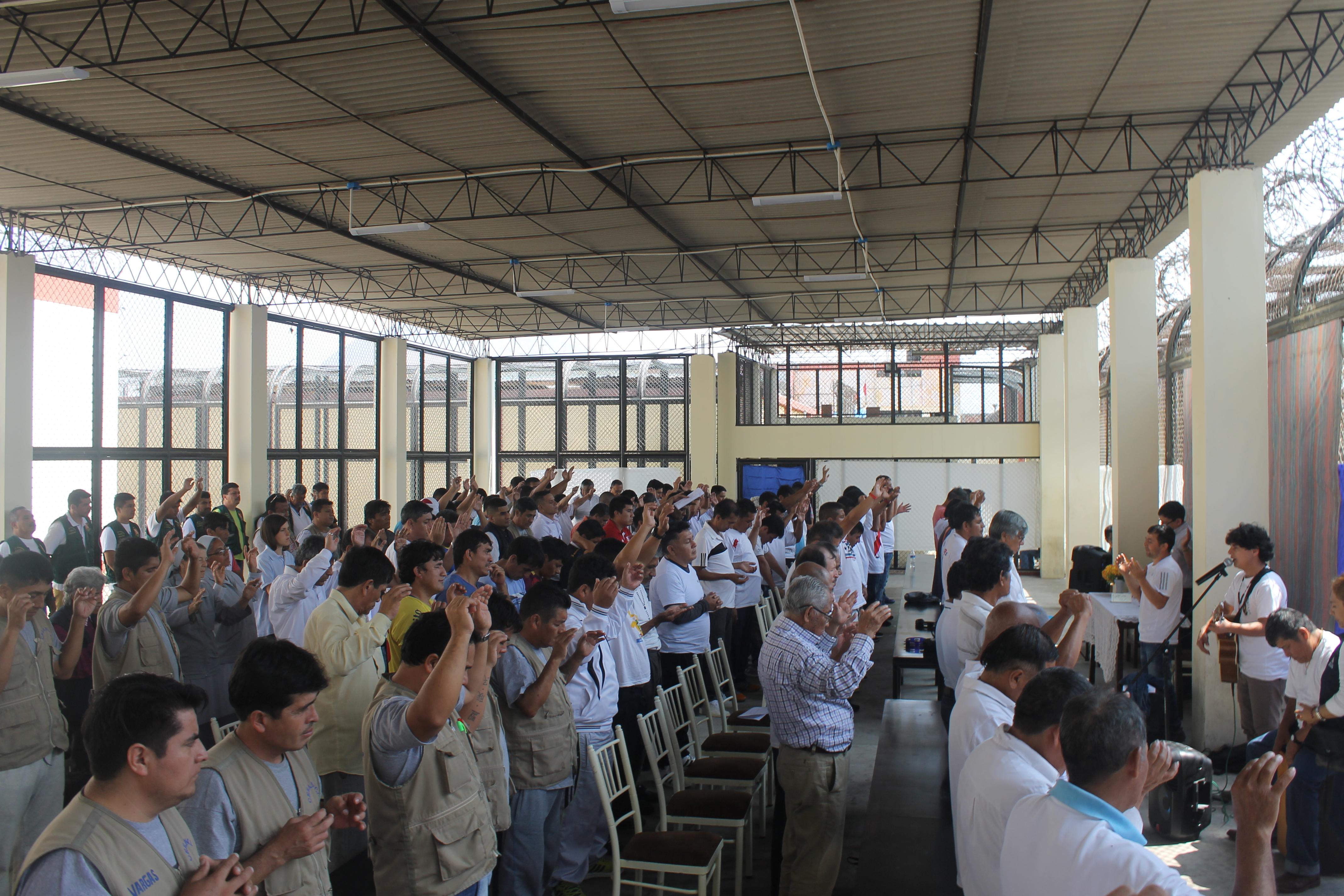 Internos del penal El Milagro irán al encuentro con el Papa y le entregarán ofrendas