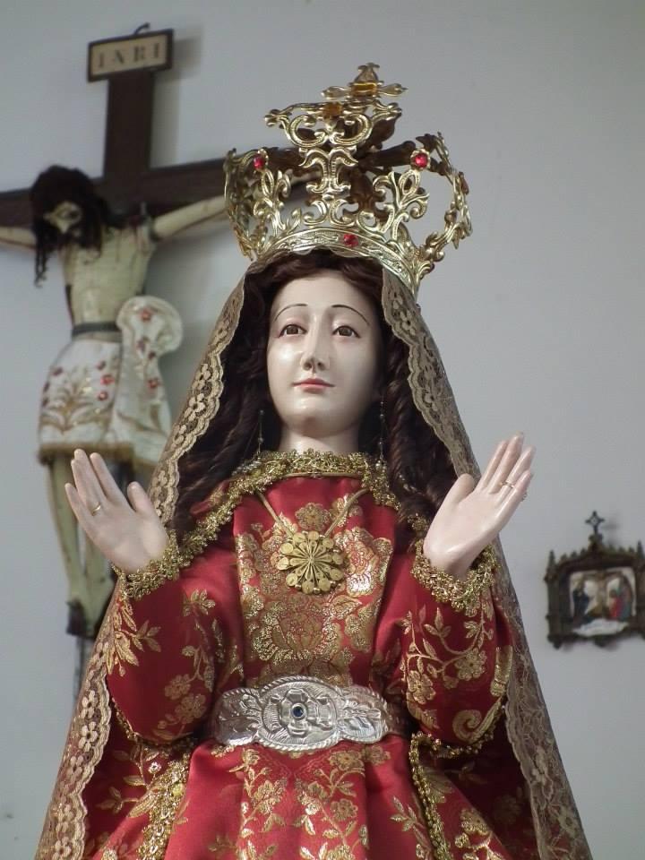 Virgen Asunta de Chachapoyas sale por primera  vez al encuentro del Papa Francisco