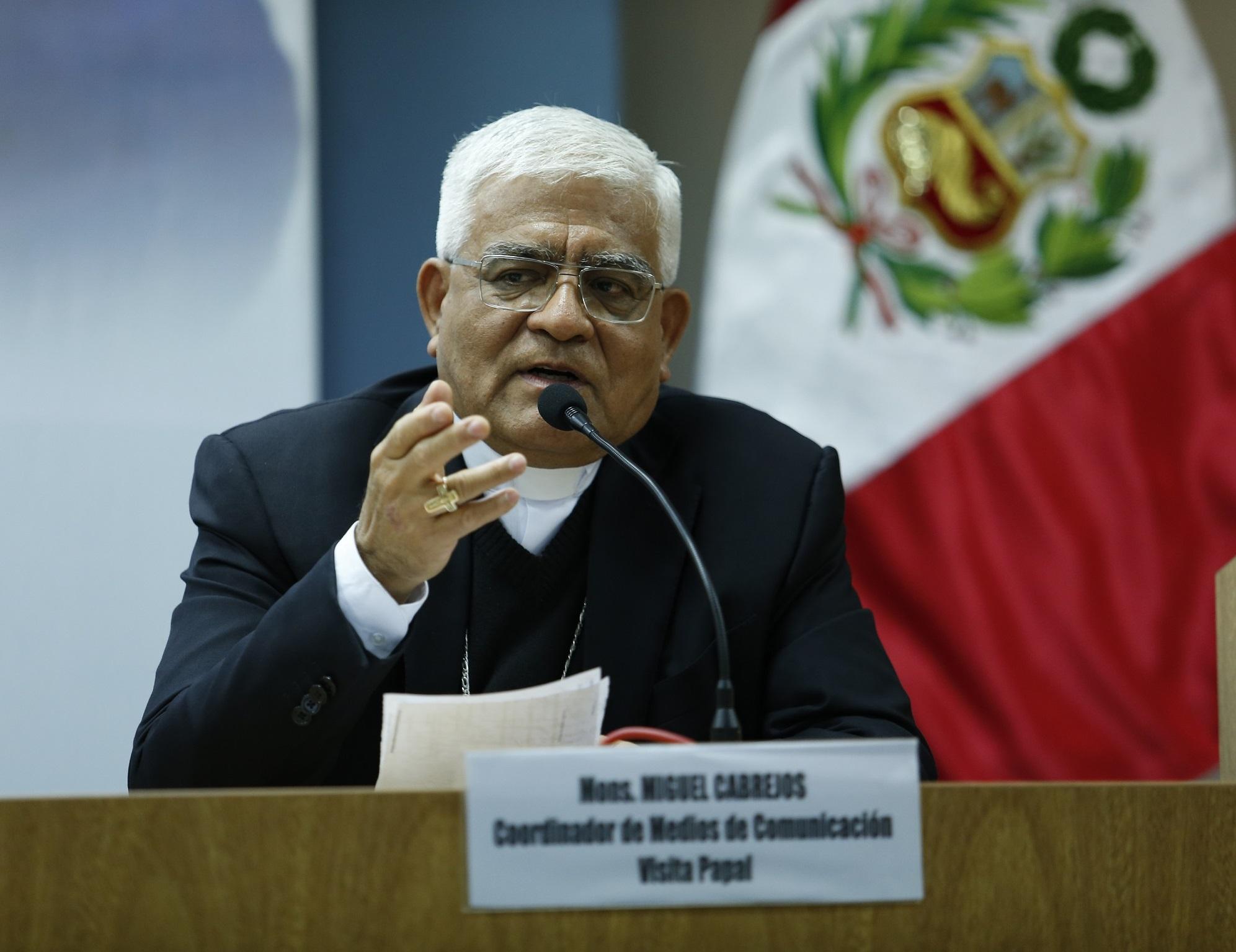 Monseñor  Miguel Cabrejos Vidarte, es elegido nuevo Presidente de la Conferencia Episcopal Peruana (CEP)- Periodo 2018-2020