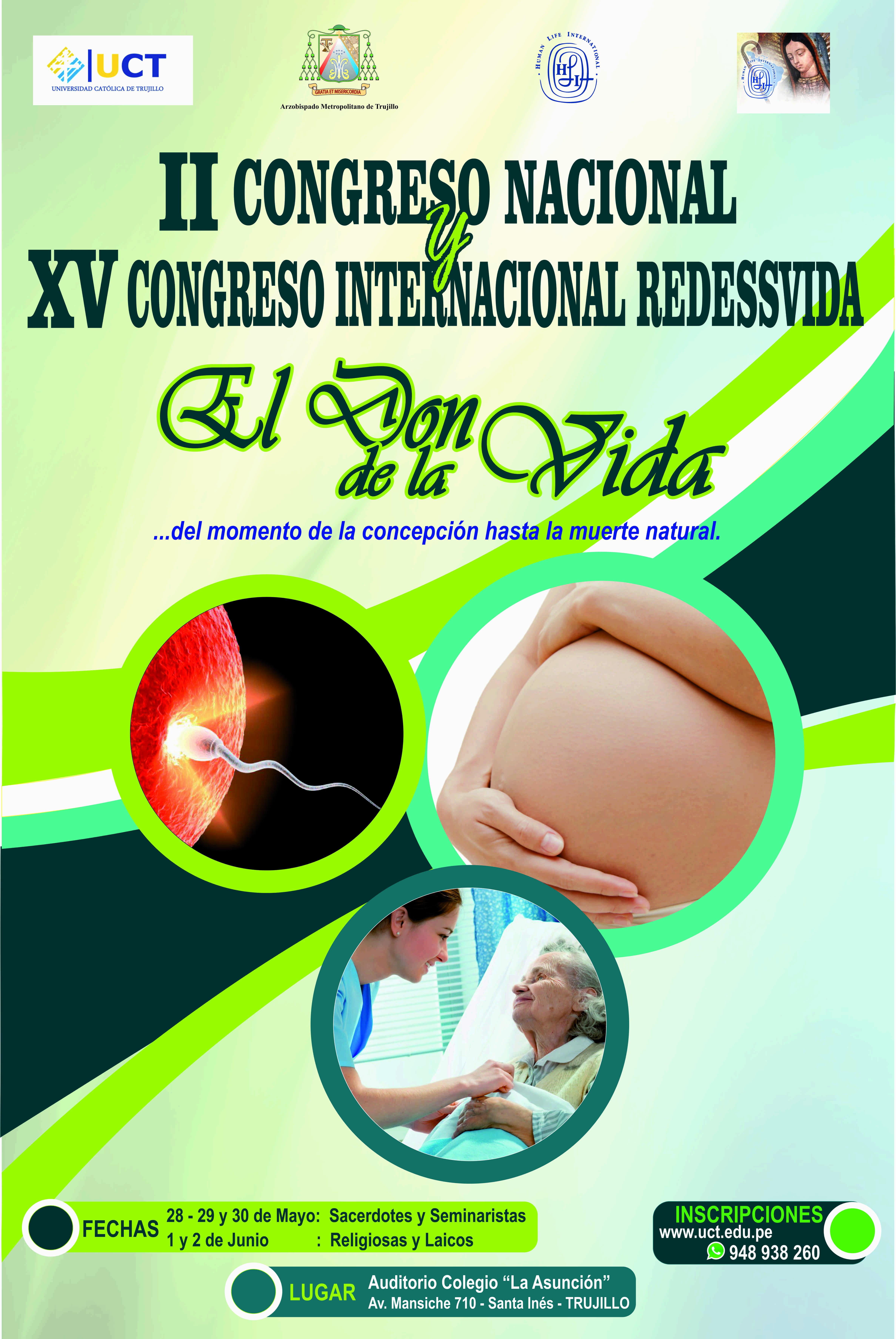 Trujillo, sede de congreso internacional pro vida.