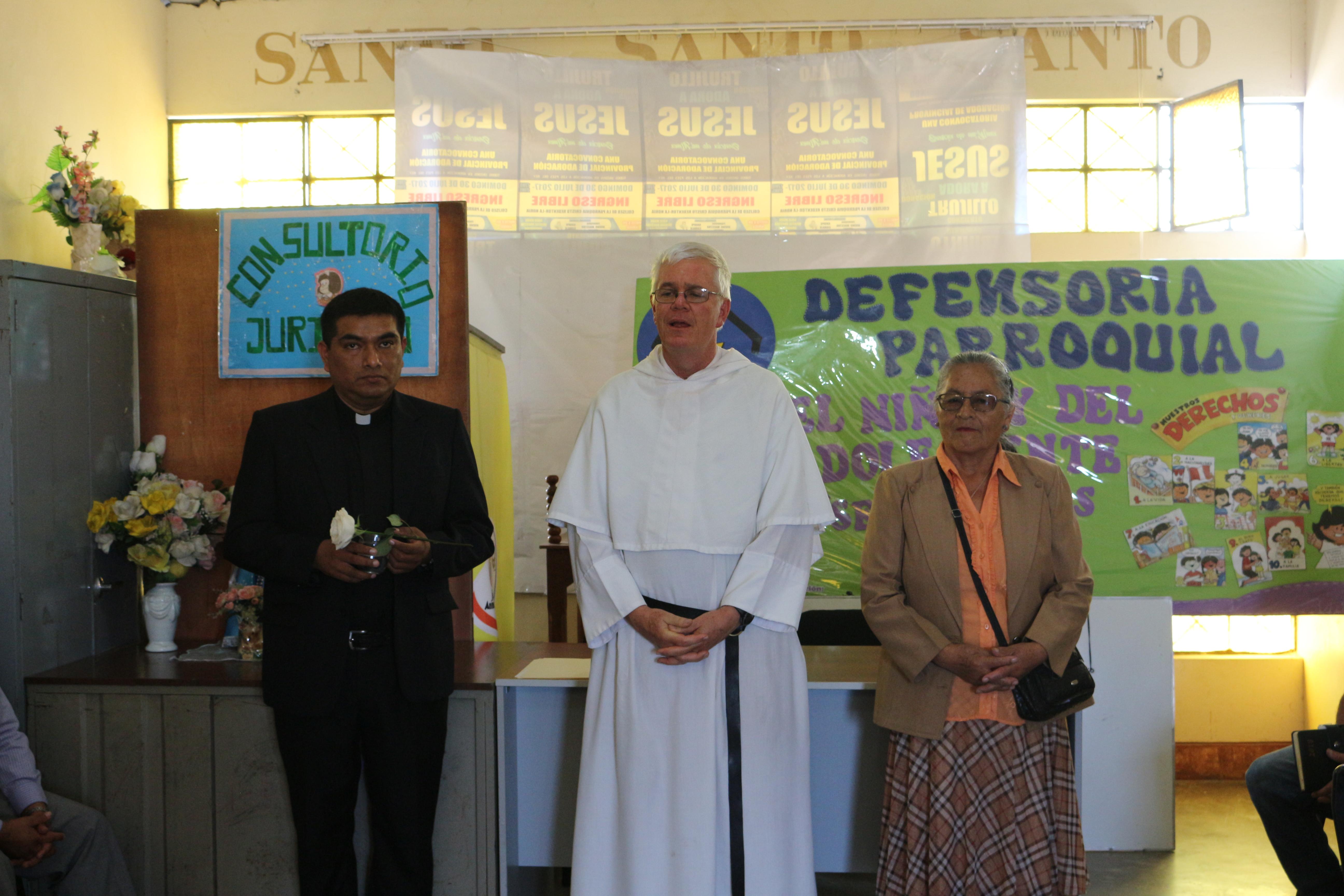 La Esperanza: Ampliarán servicio de Defensoría Parroquial del Niño y del Adolescente