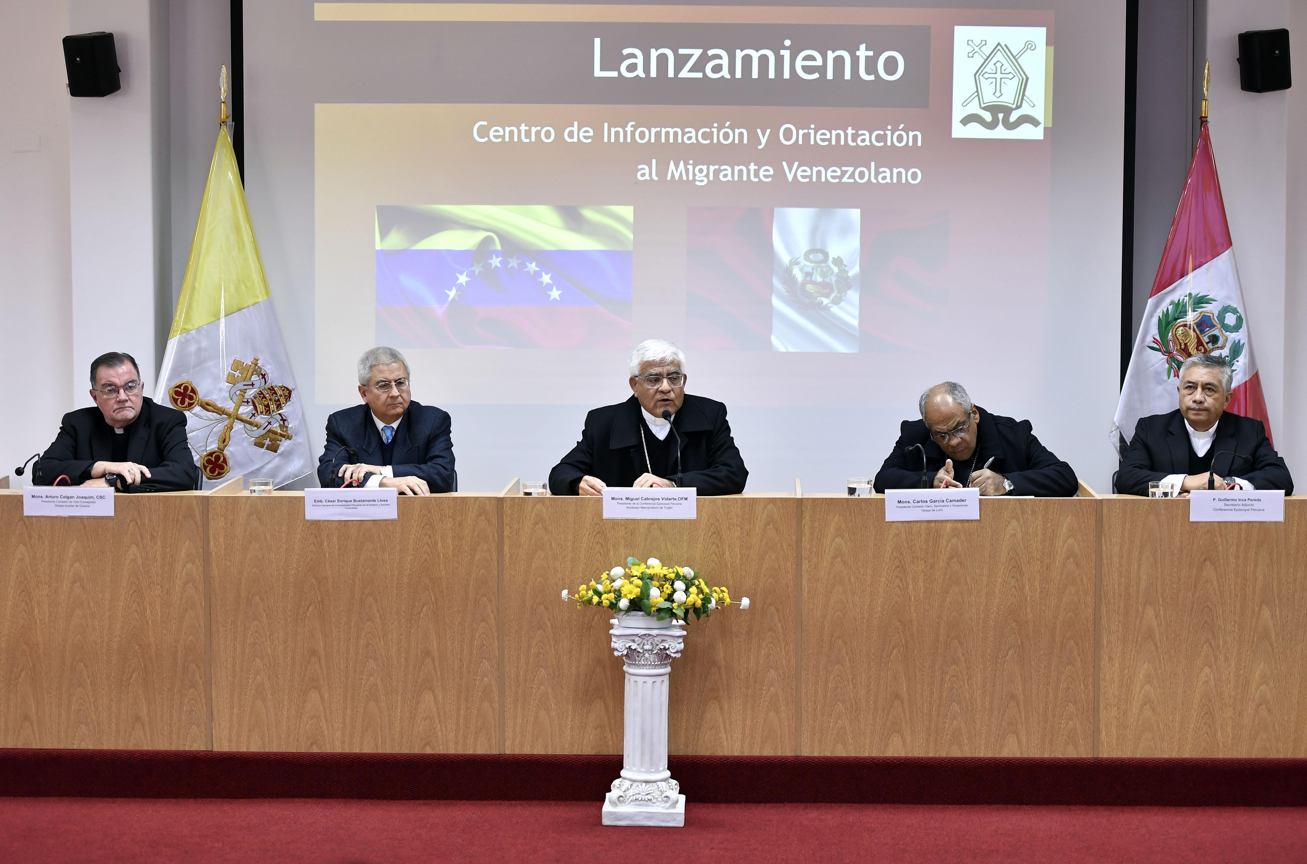 Conferencia Episcopal apertura centro de información y orientación al migrante venezolano