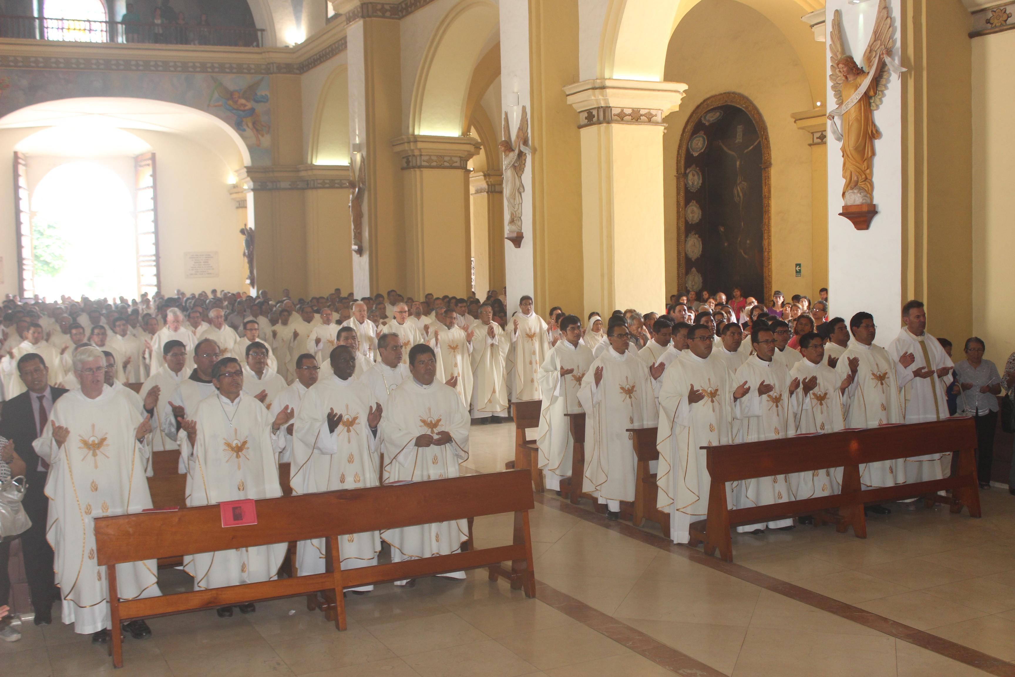 "Trujillo: 80 sacerdotes iniciarán  su ""Retiro anual del Clero"""