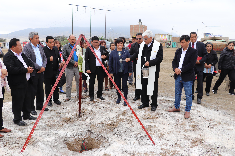Huanchaco: Entregan terreno al Arzobispado de Trujillo para uso pastoral y recreativo