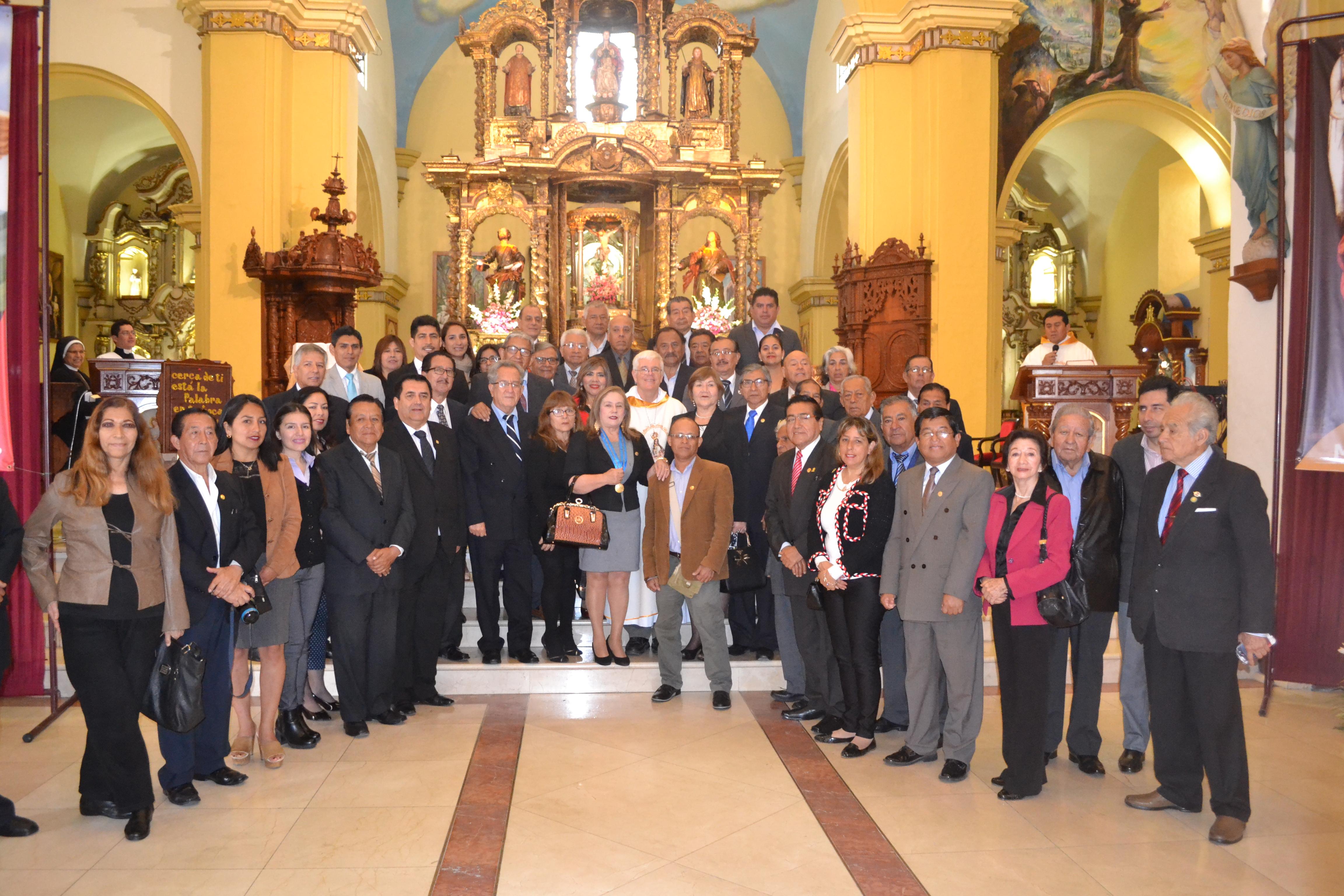 Arquidiócesis de Trujillo rindió  homenaje a los periodistas en su día.