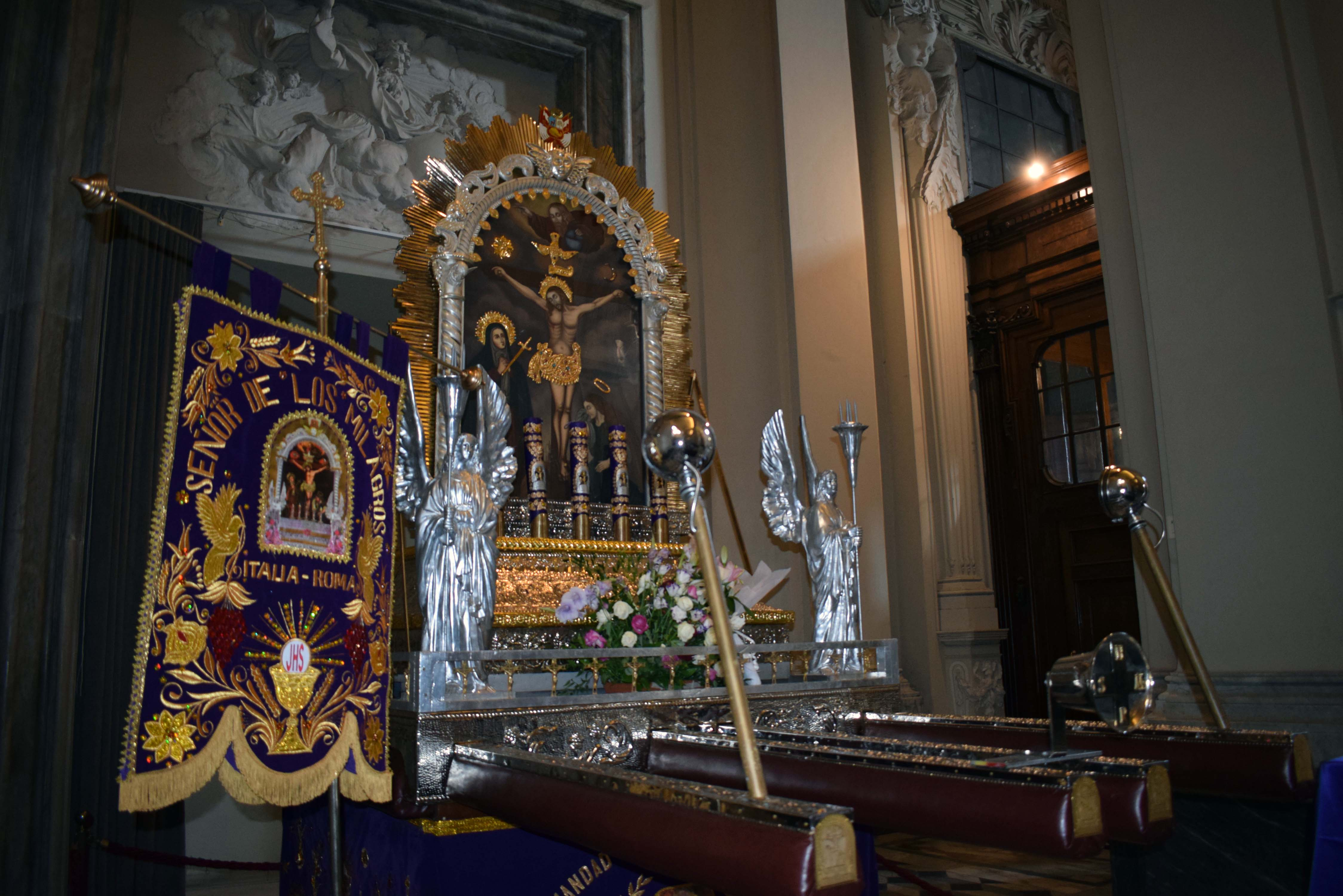 Roma: Papa Francisco bendecirá a sagrada imagen del Señor de los Milagros