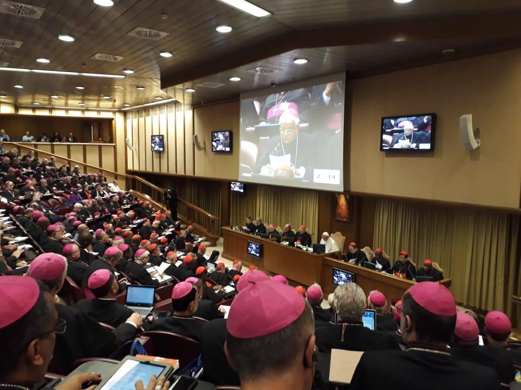 El Vaticano: Reflexión de Mons. Miguel Cabrejos, en el Sínodo de Roma 2018