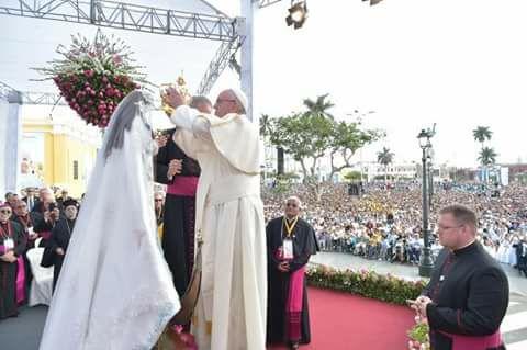 Celebrarán primer aniversario de la  visita del Papa Francisco a Trujillo