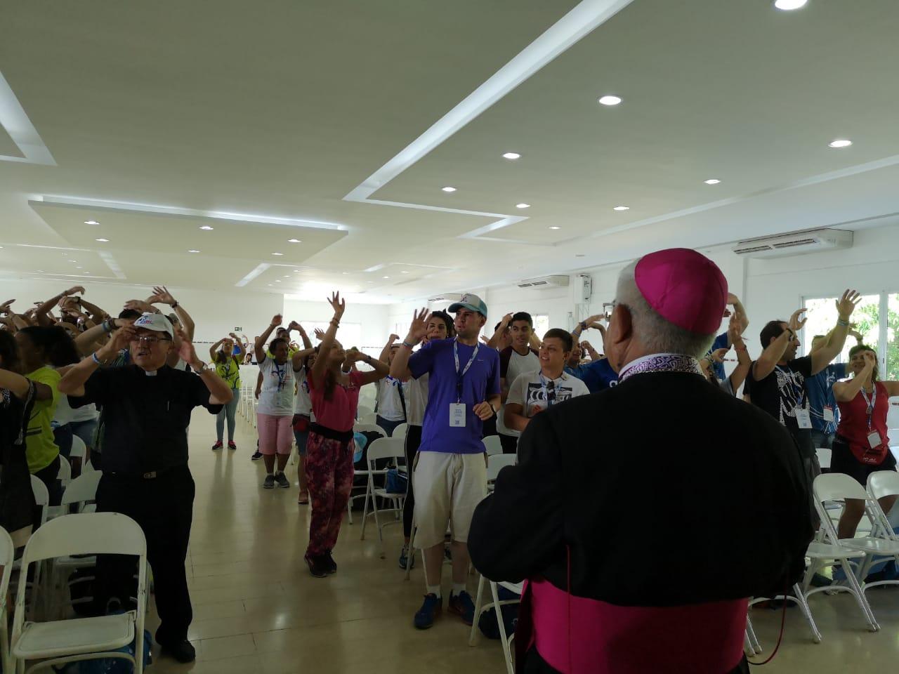 Presidente del Episcopado Peruano ya se encuentra en la Jornada Mundial de la Juventud Panamá 2019