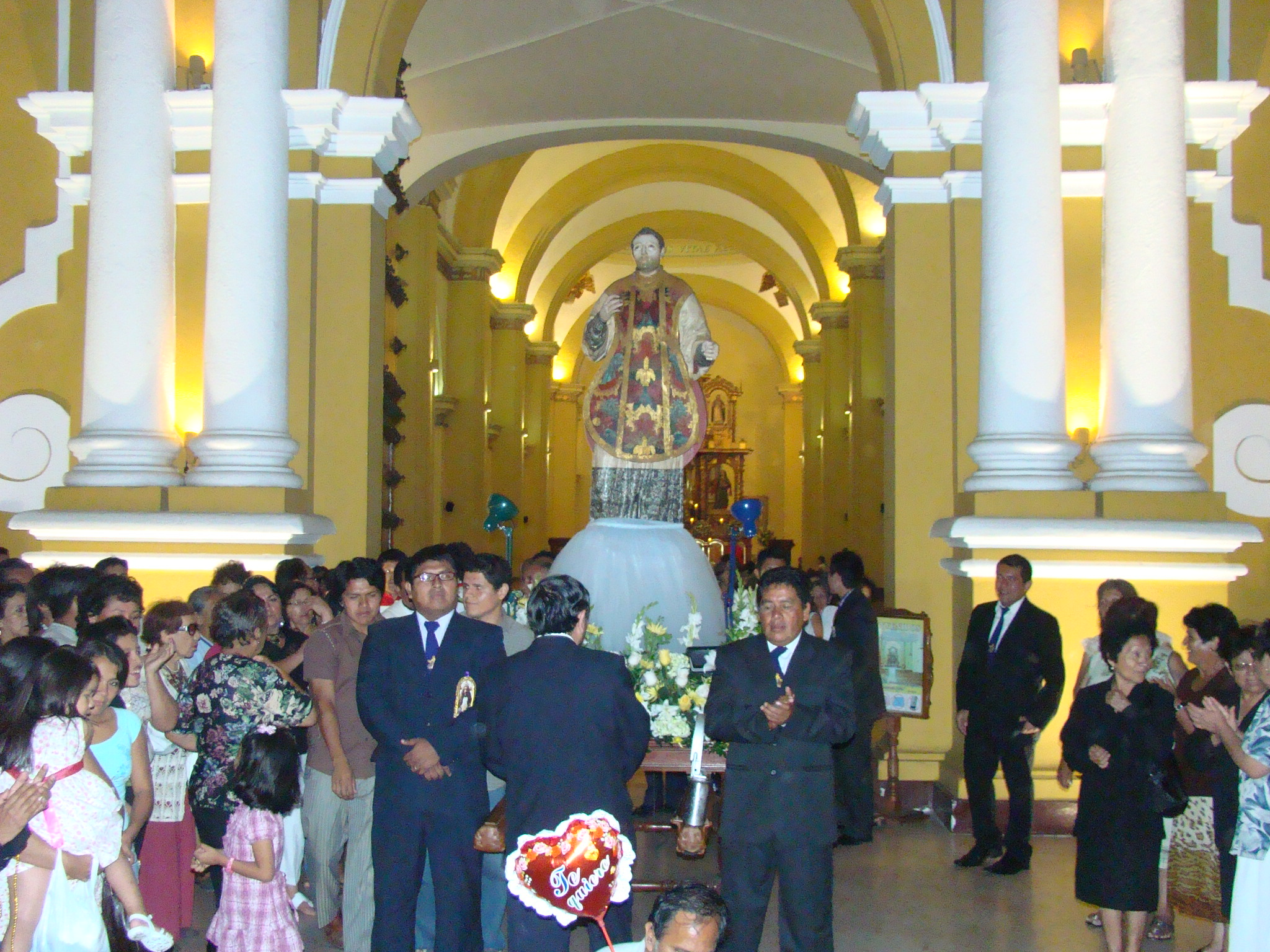 Hoy inicia la celebración de San Valentín, Patrono de Trujillo