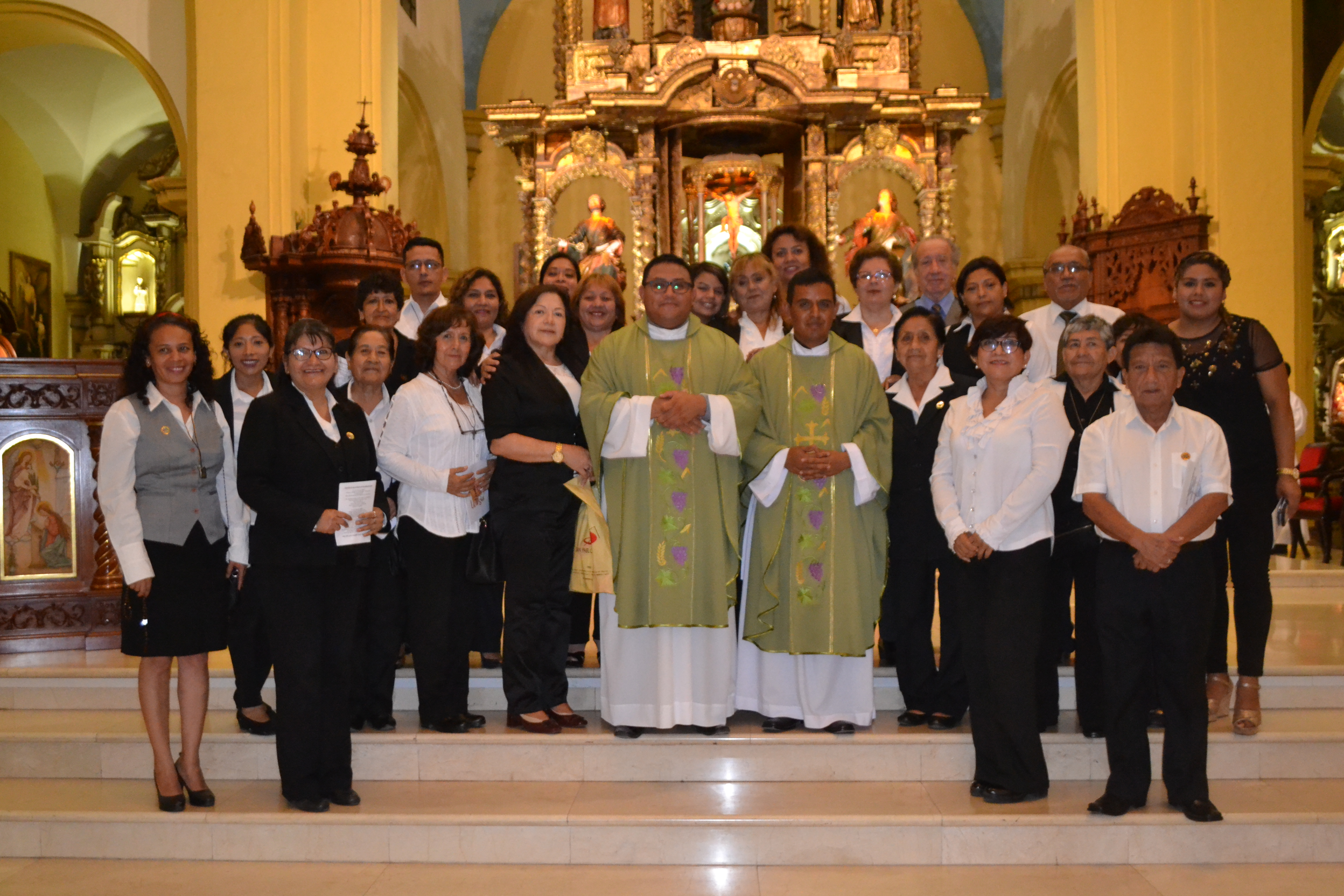 Grupo de Liturgia de la Catedral celebró su 19° Aniversario