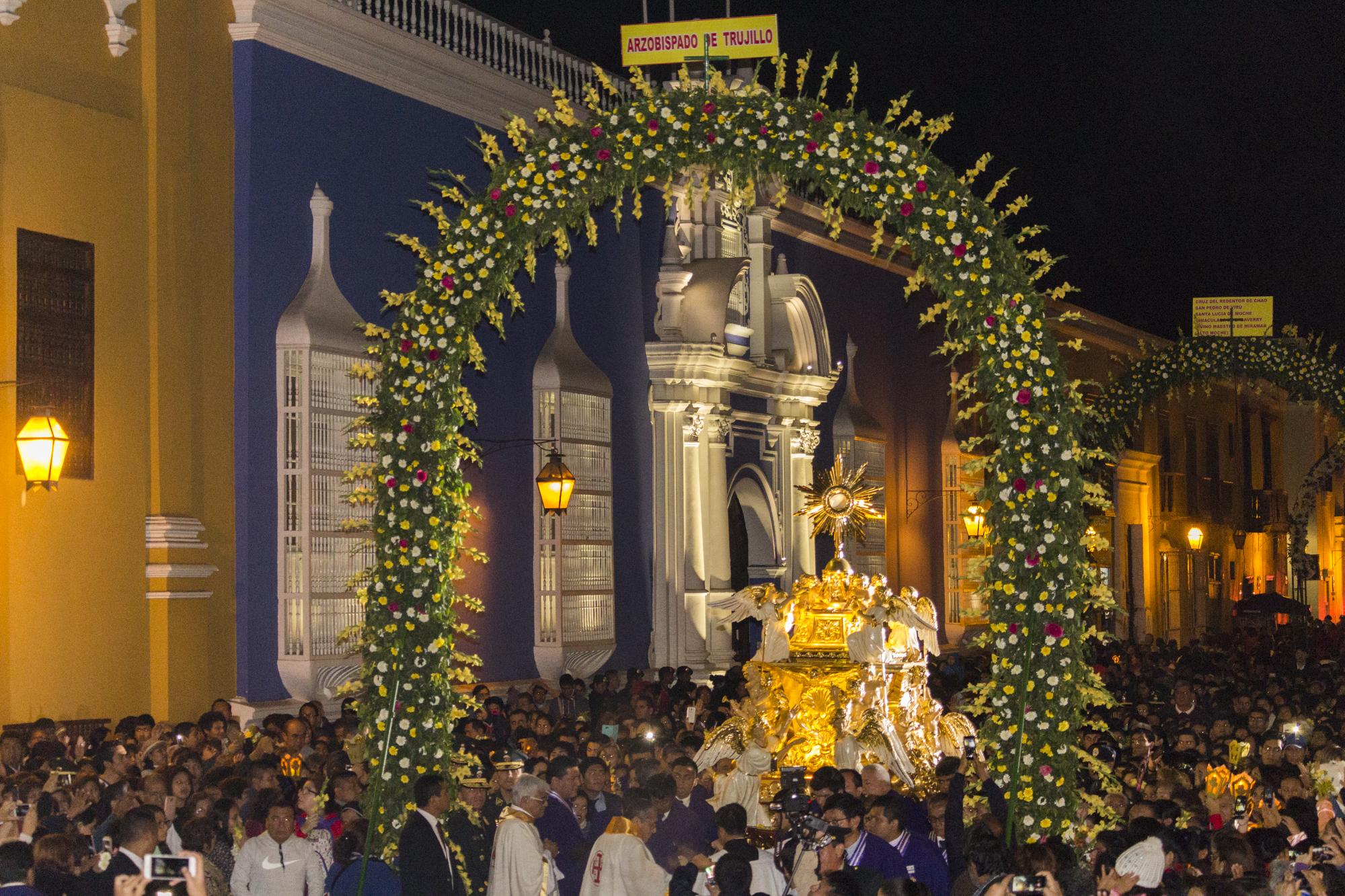 Iglesia saluda feriado no laborable por celebración del Corpus Christi Arquidiocesano