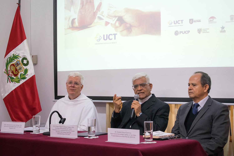 Presidente de la Conferencia Episcopal Peruana presenta curso sobre lucha contra la corrupción que será dictado por todas las universidades católicas del Perú