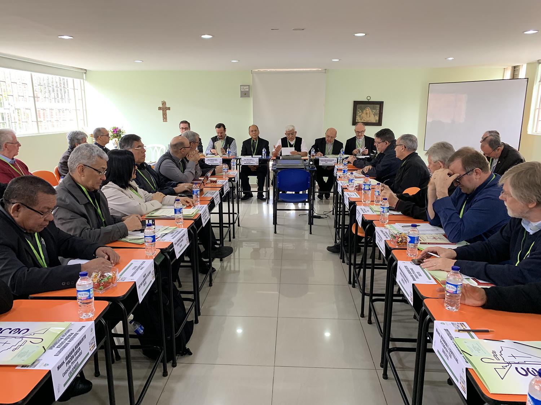 Mons. Miguel Cabrejos preside última reunión del Celam antes del Sínodo Panamazónico