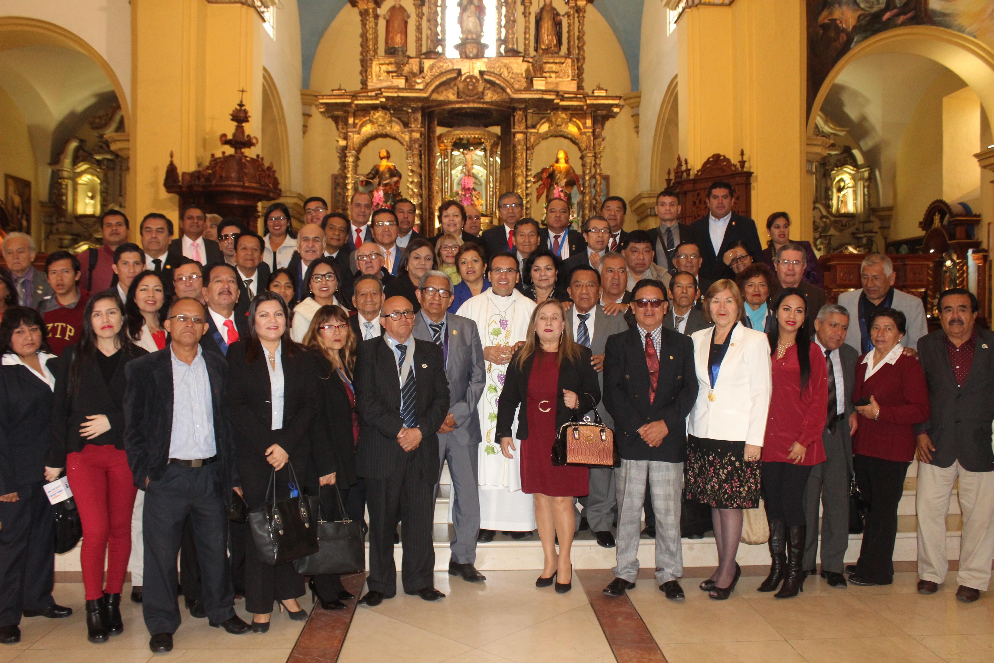 Arquidiócesis de Trujillo rindió  homenaje a los periodistas