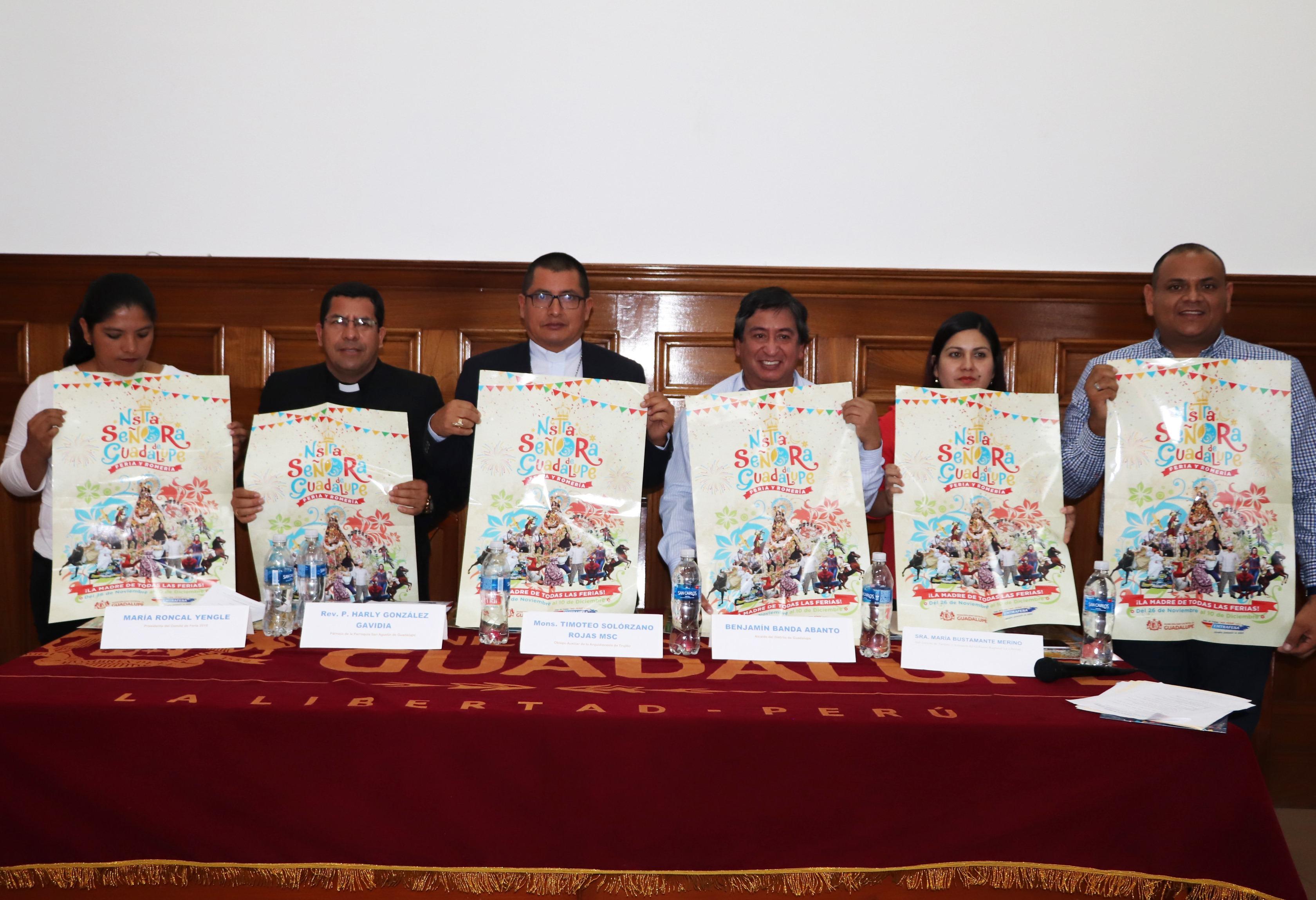 Anuncian Fiesta Patronal en honor a Nuestra Señora de Guadalupe.