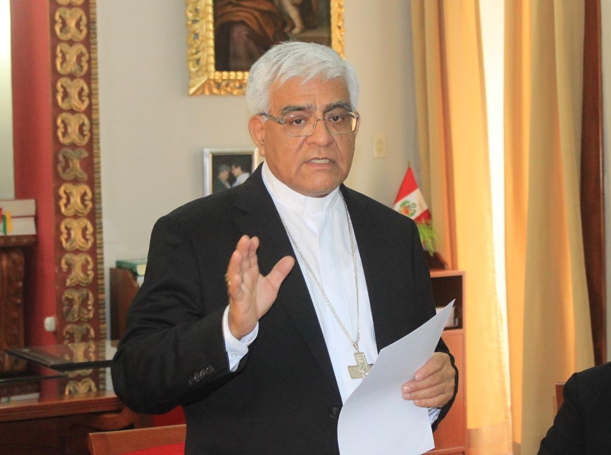 Monseñor Miguel Cabrejos OFM, Presidente del Celam, participará en la COP 25, en España