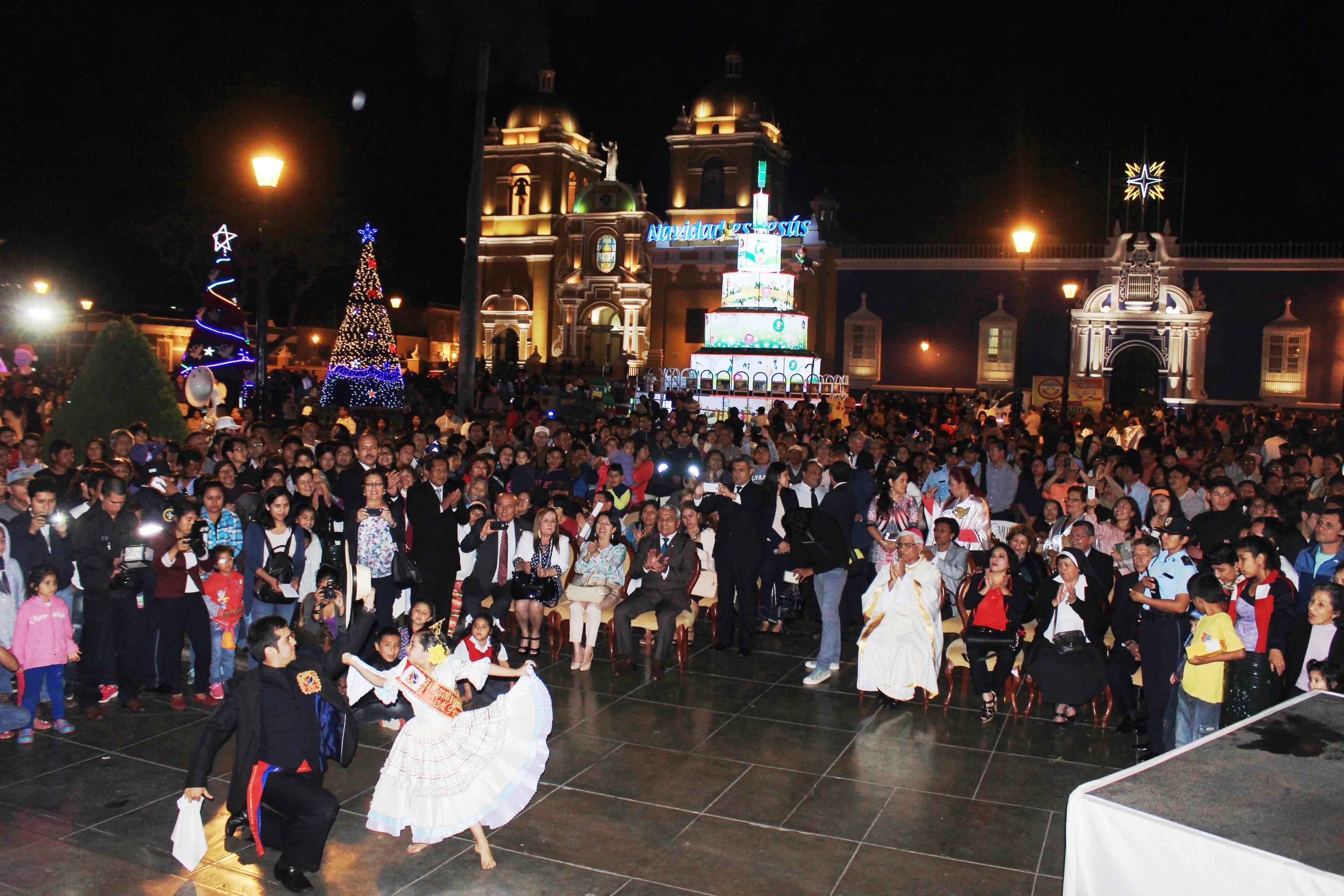 Este domingo se inaugura el Festival Navideño Luces y Colores, en la Plaza de Armas