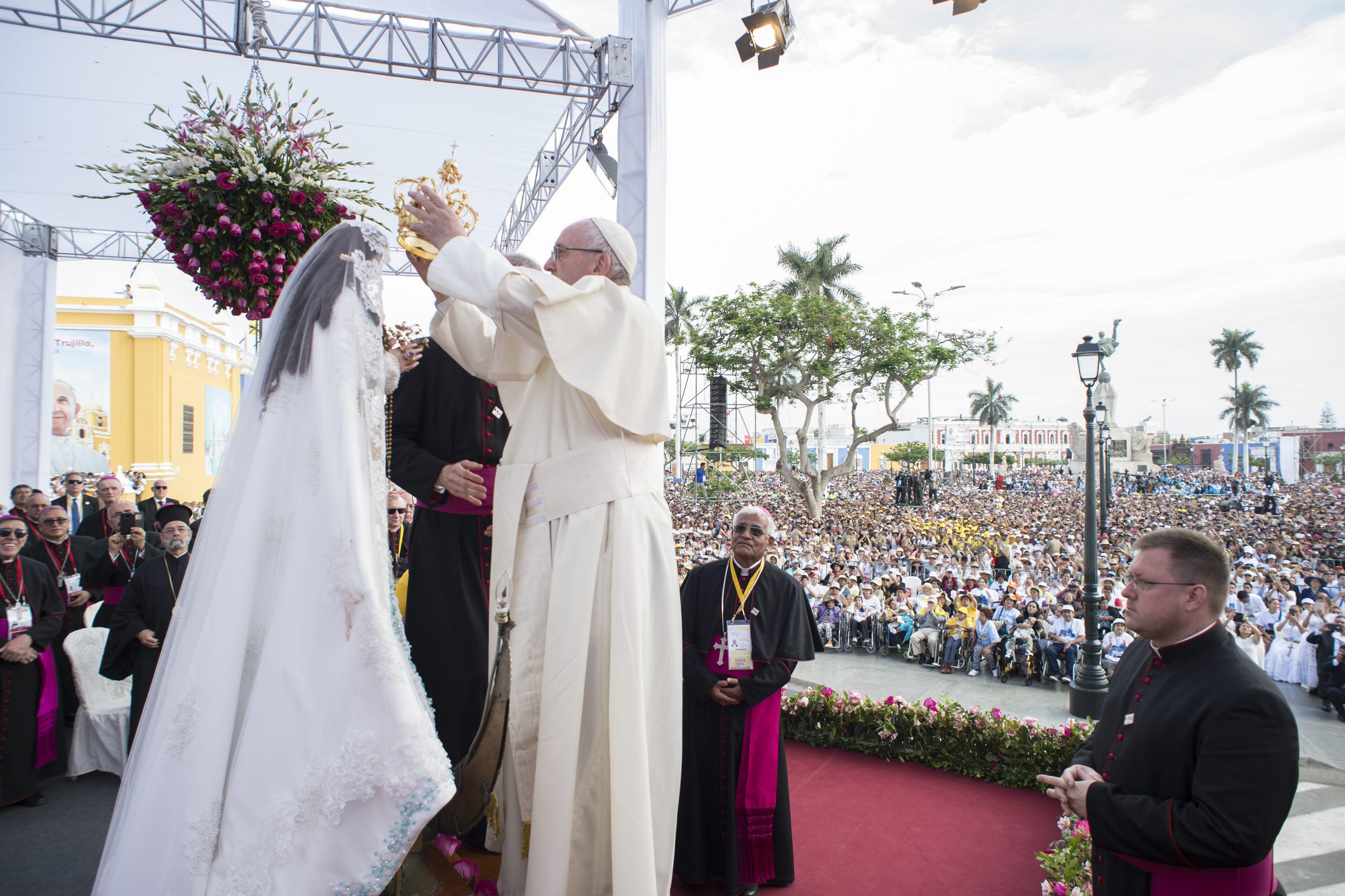 Trujillo celebrará el segundo aniversario de la  visita del Papa Francisco