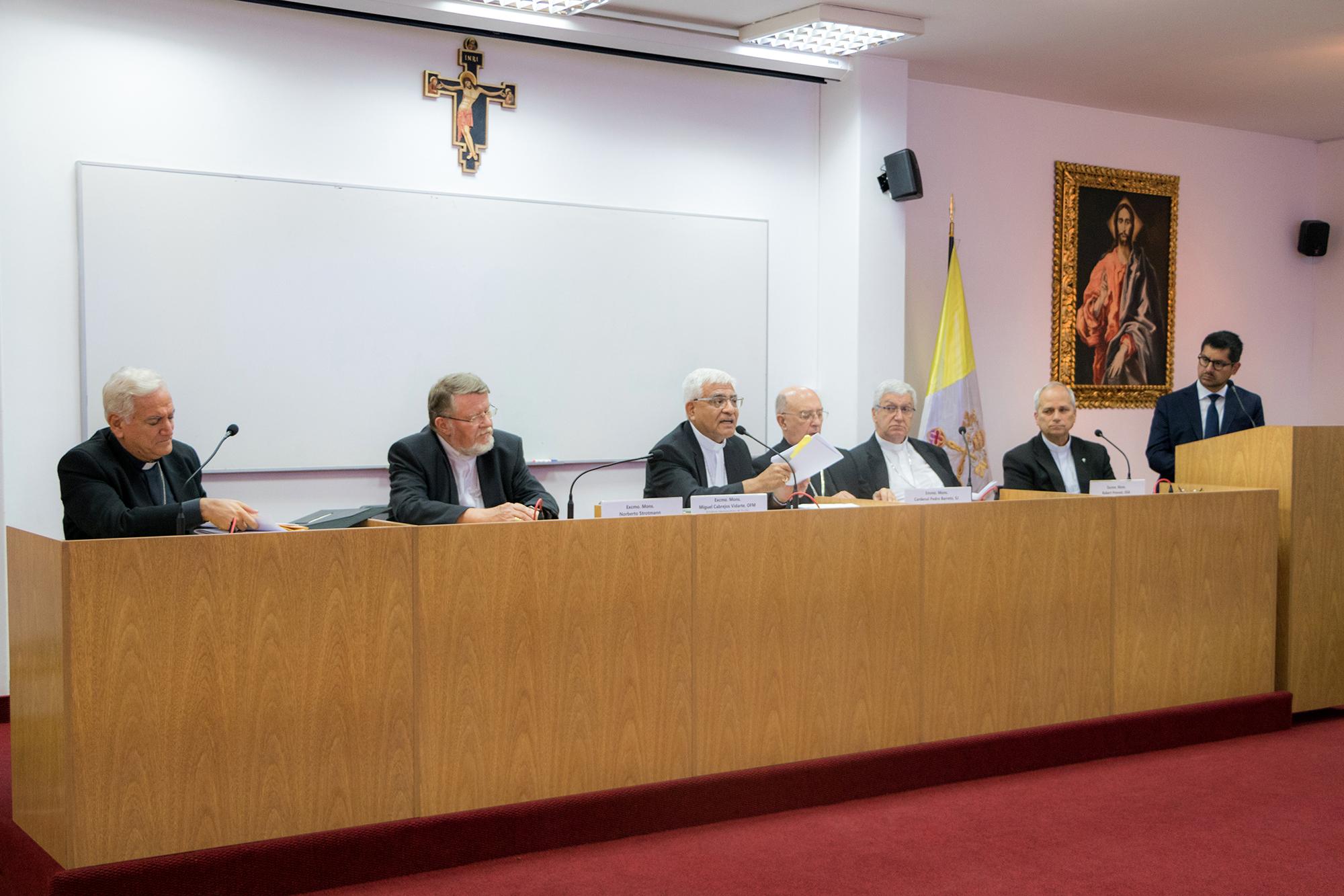 """Episcopado Peruano presenta la Exhortación Apostólica Post Sinodal del Papa Francisco """"Querida Amazonía"""""""