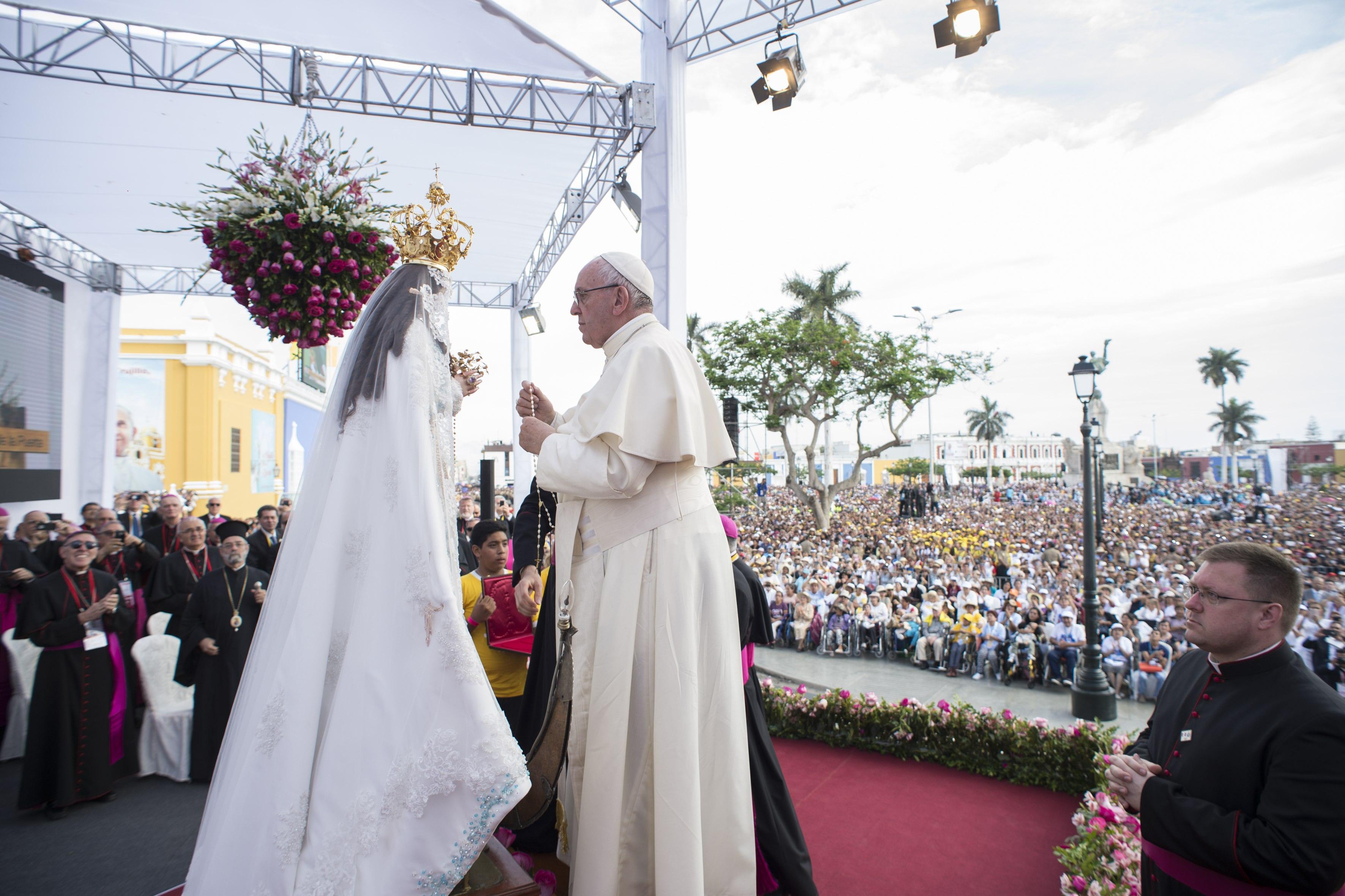 Coronavirus: La oración del Papa Francisco a la Virgen María, signo de salvación y esperanza