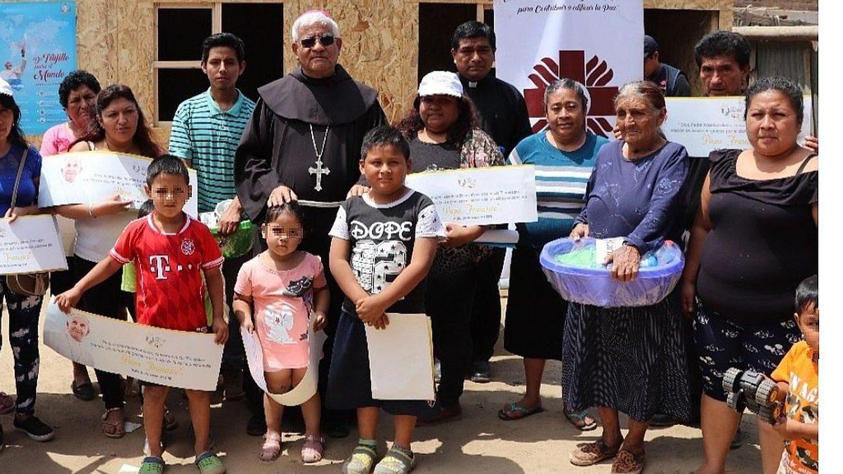 Covid- 19: Arzobispado de Trujillo lanza campaña de ayuda  a favor de familias más necesitadas