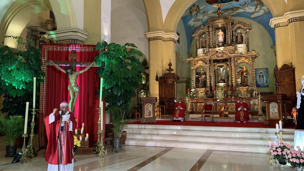 Viernes Santo: Arzobispo invoca a que donaciones se hagan con transparencia