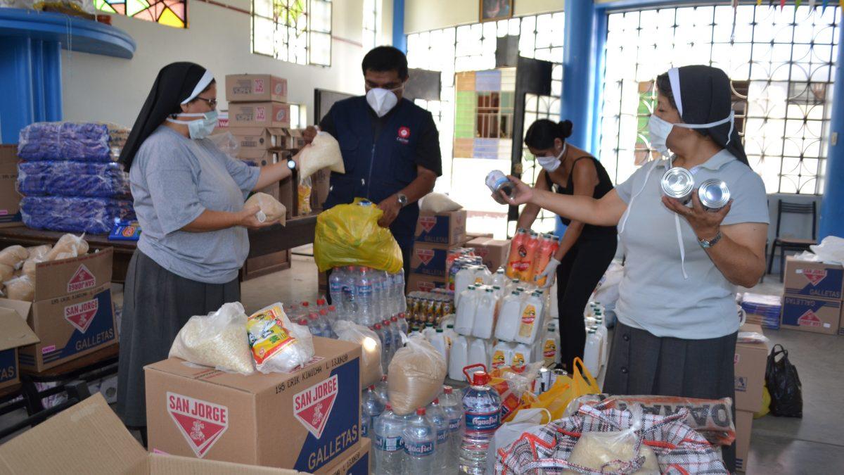 COVID-19: Arzobispo agradece apoyo de empresas en cruzada solidaria