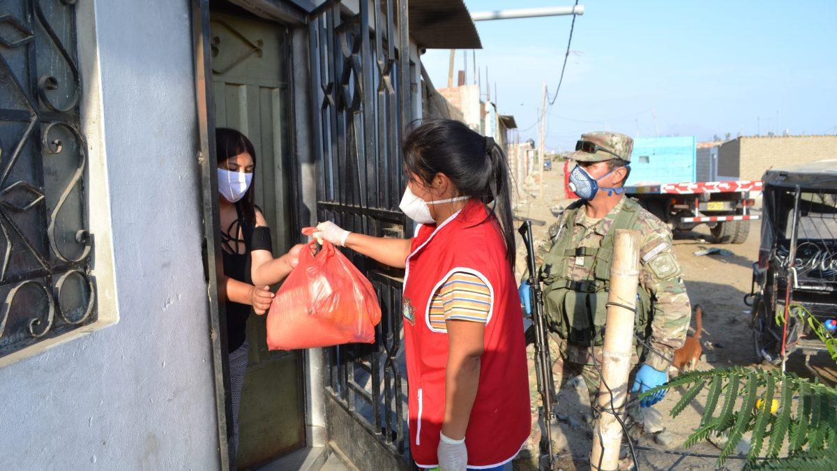 COVID-19: Iglesia entrega víveres a 1000  familias vulnerables de Trujillo