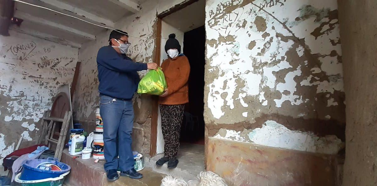Santiago de Chuco: Cáritas parroquial atiende a 3600 familias y lanzan campañas de concientización