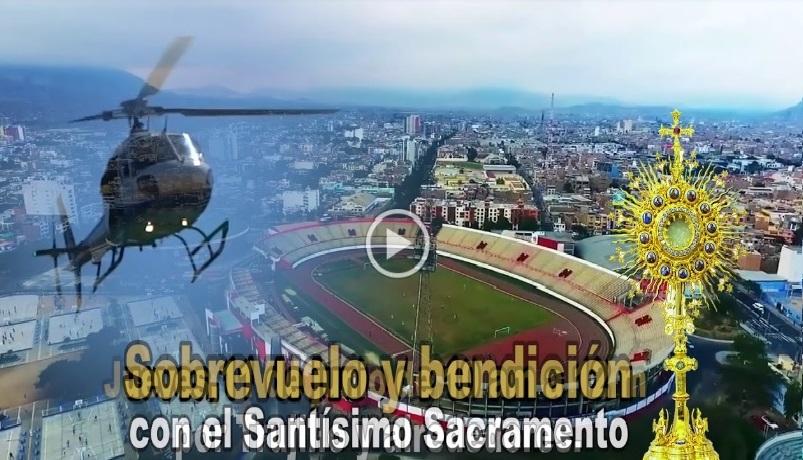 Corpus Christi: Lanzan spot oficial de sobrevuelo y bendición, en Trujillo