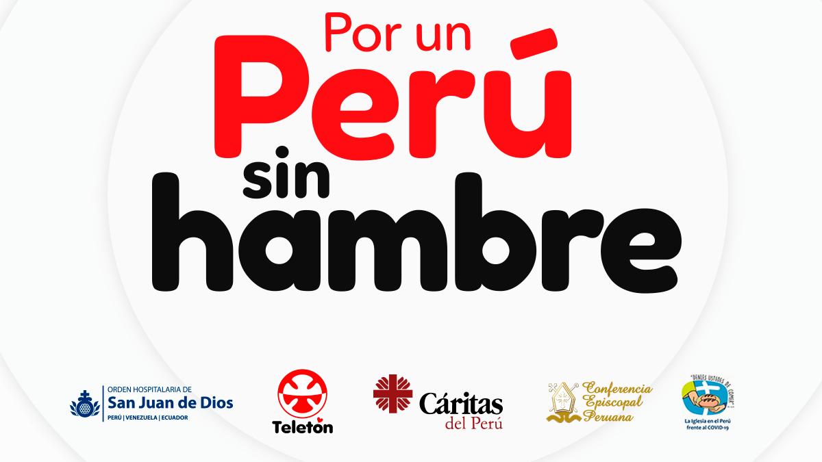 """Fundación Teletón y Conferencia Episcopal Peruana presentan """"Por un Perú sin Hambre"""""""