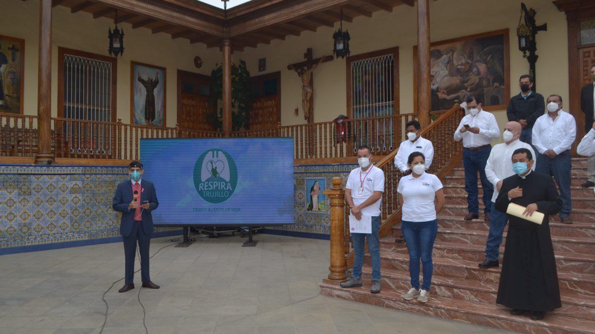 """""""Respira Trujillo"""": Inicia segunda etapa  para adquirir balones de oxígeno"""