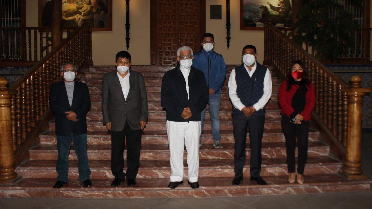 Municipios de Virú y Chao entregan donación al Arzobispado, para compra de planta de oxígeno