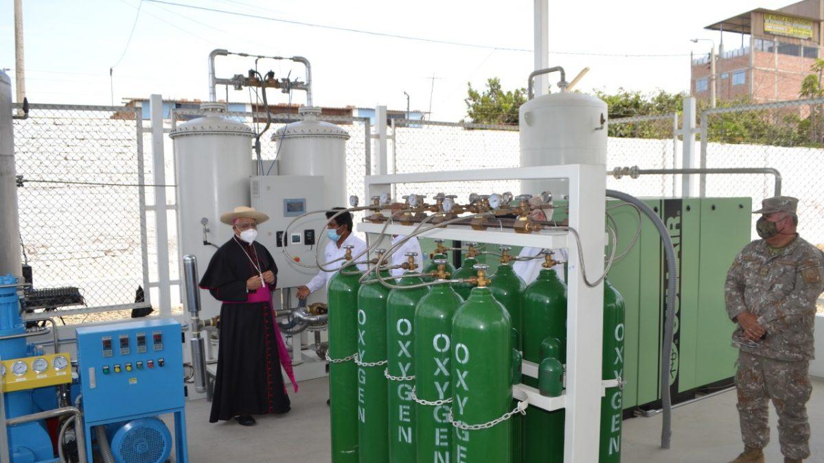 Planta de Oxígeno de Respira Trujillo recibe licencia de funcionamiento e inicia producción