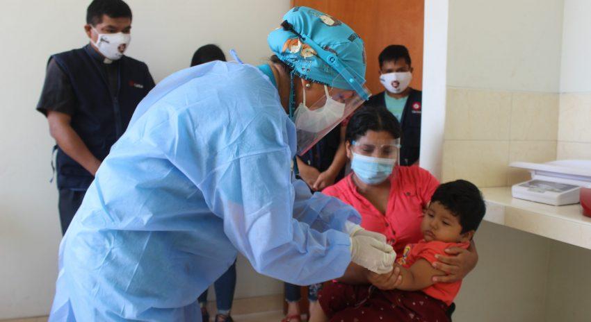 COVID-19: Policlínico Materno Infantil de la Arquidiócesis atiende a miles de niños y mujeres en Alto Trujillo
